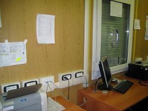 Мобильный офис внутри