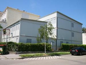 Здание из мобильных блок контейнеров