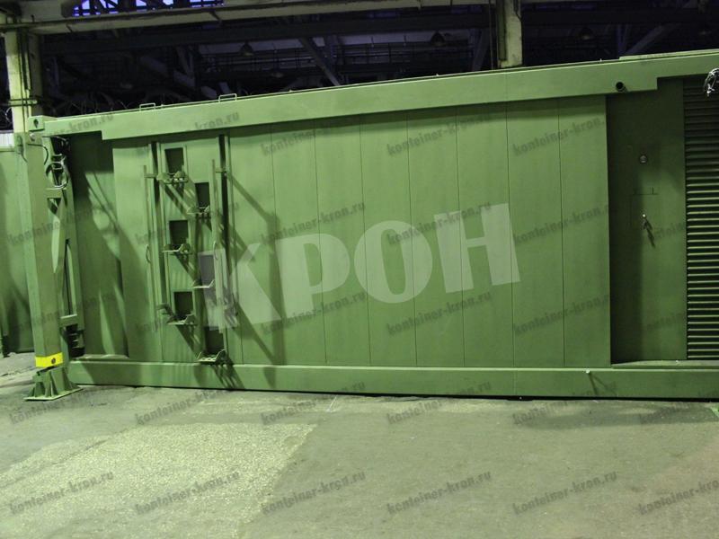 Лестница контейнер рефрижератора