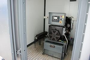 Отделение автономного электроснабжения с установленным генератором
