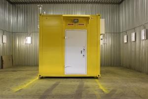 Разработка контейнера связи для нефтедобывающей компании