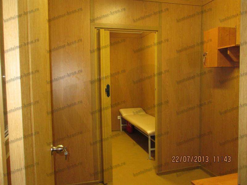 Вход в комнату отдыха МКПП фото