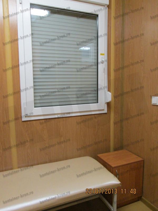 Фотография прикроватной тумбочки в комнате отдыха МКПП