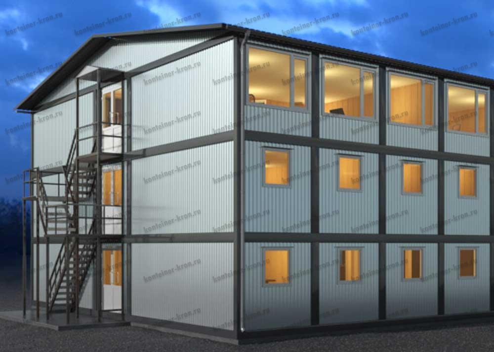 Строительный бизнес: производство модульных зданий