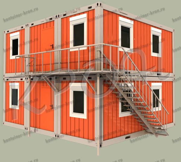Здания из блок-контейнеров