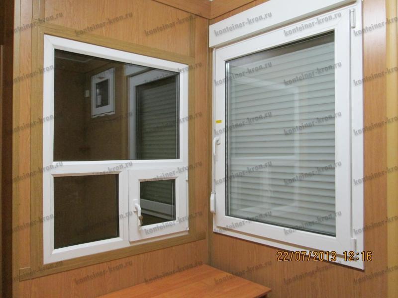 Смотровое окно дежурного в СЛС