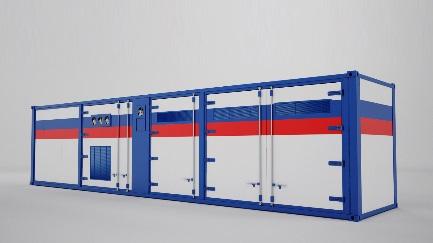 Технологический контейнер Вид №1