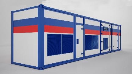 Технологический контейнер Вид №2