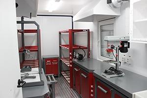 Фото общего вида аккумуляторной мастерской