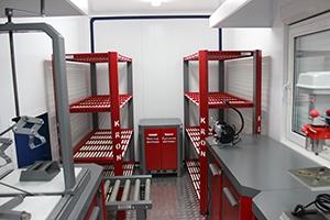 Фотографии аккумуляторной мастерской (9 метров)