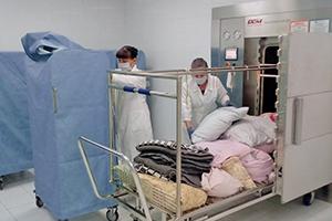 Фото дезинфекции в блок контейнере