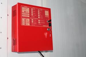 Фотография панели управления СППС в контейнере КРОН-БГУ-01