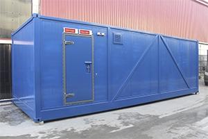 Общий вид контейнера металлического ХЛВЖ