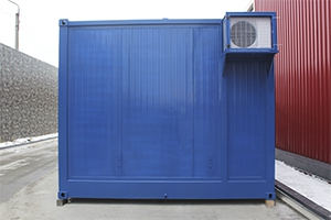 Блок контейнер из металла для ХЛВЖ