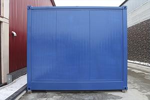 Фото торцевой стенки блок контейнера
