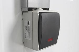 Фото выключателя со световым индикатором