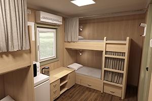 Фото контейнера для отдыха персонала