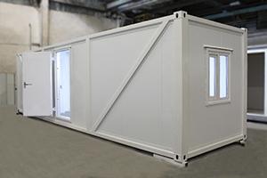 Фото металлического блок-контейнера для поста охраны