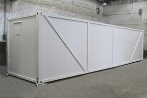 Фотография контейнера для оснащения оборудованием