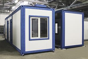 Блок-контейнер для размещения водоочистной установки КРОН-БК-01