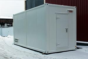 Фото металлического блок-контейнера 6 метрового для системы накопления электроэнергии