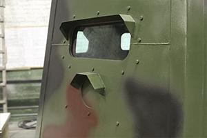 Фотография бойницы бронеколпака