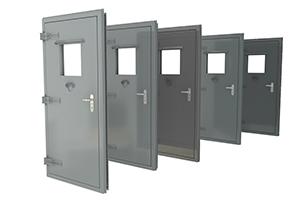 Широкий выбор материалов исполнения дверей
