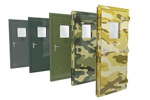 Широкий выбор цветовых решений дверей для контейнеров