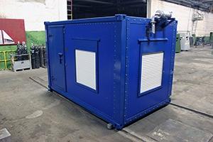 Фотография контейнера с ДГУ-200 кВт общий вид