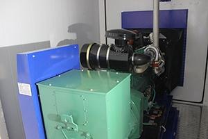 Фотография силовой установки электростанции 120 кВт Mitsudiesel