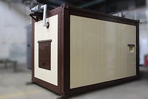 Фото контейнера для ДГУ 200кВт ЯМЗ общий вид