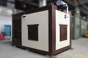 Фото контейнера для ДГУ 200кВт ЯМЗ вид спереди