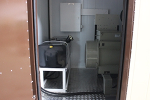 Фото контейнера для ДГУ 200кВт ЯМЗ вид № 1