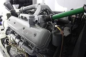 Фото дизельного двигателя силовой установки