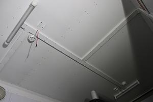 Фото освещения и датчиков дыма контейнера для ДГУ 200кВт ЯМЗ