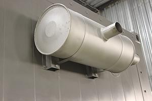 Фото выхлопной трубы с катализатором
