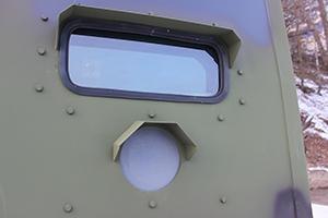 Фото бронерованного окна