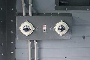 Фото панели управления бронеколпака