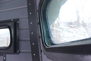 Фотография пуленепробиваемого окна