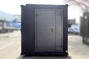 Фотография контейнера вид спереди