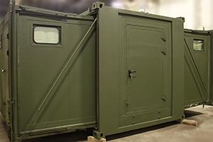 Фото раздвижного контейнера-бани вид №4
