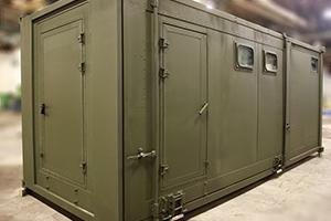Фото раздвижного контейнера-бани вид №6
