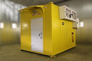 Фото контейнера связи общий вид №2