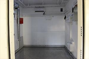 Фото контейнера связи вид внутри