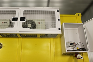 Фото щита электроснабжения контейнера связи