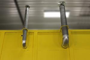 Фото вентиляционных шахт контейнера связи