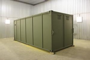 Фото контейнера для хранения оружия и боеприпасов общий вид