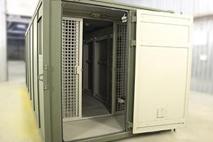 Фото входной двери контейнера КХОБ