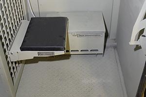 Фото откидного стула контейнера КХОБ