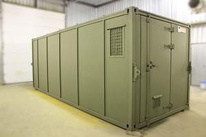 Фото контейнера для хранения оружия и боеприпасов вид №2